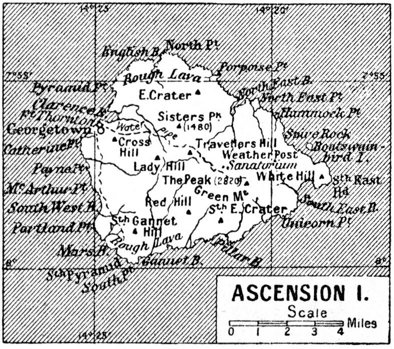 British Island of Ascension