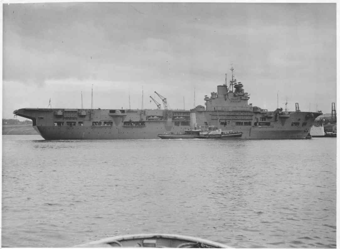 Service histories of royal navy warships in world war 2