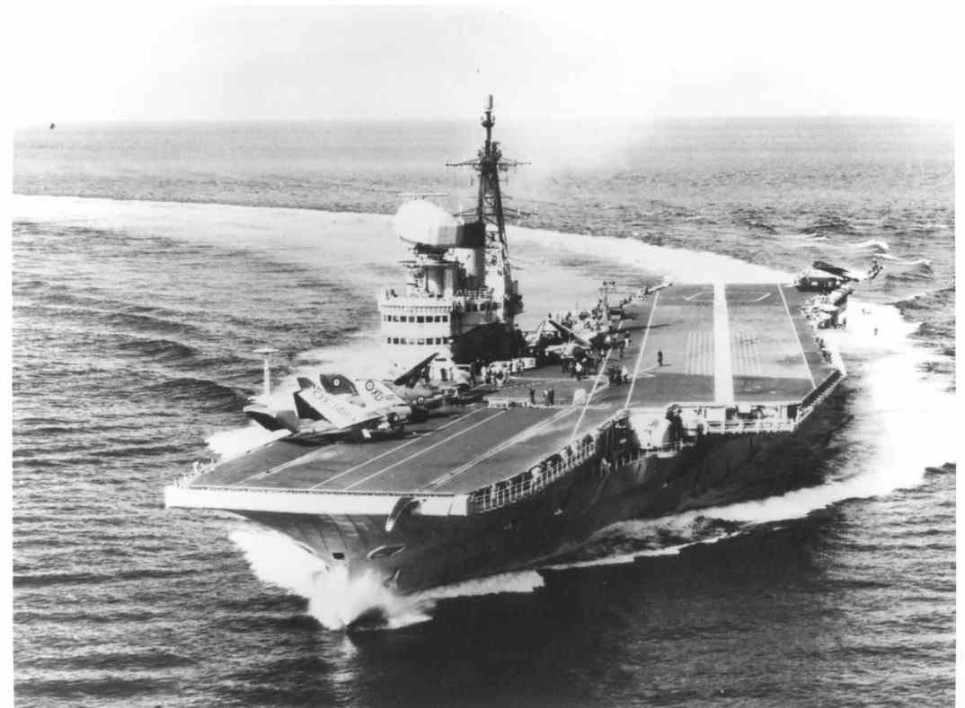 Hms Victorious British Fleet Aircraft Carrier Ww2