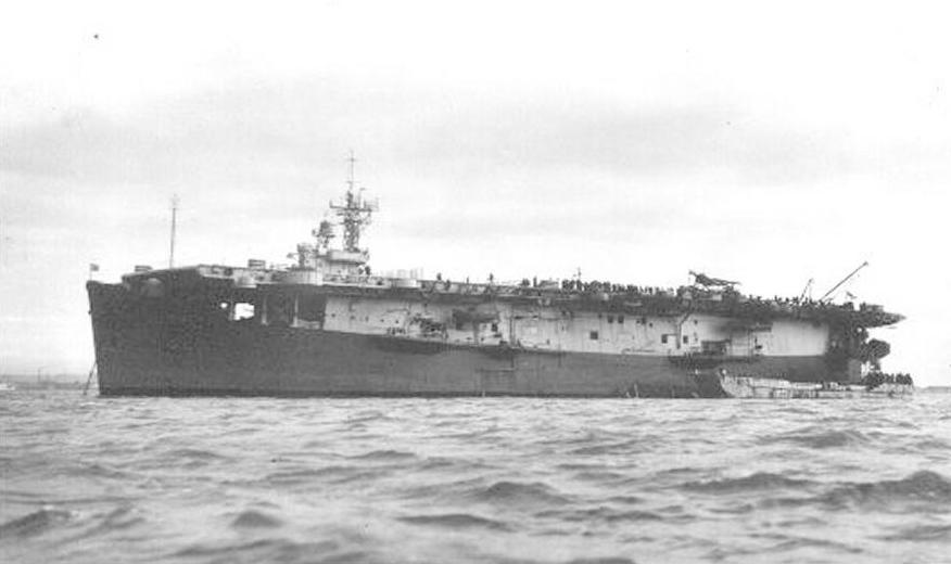 hms striker  british escort carrier  ww2