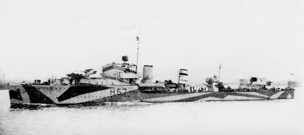 HMS Hesperus, destroyer
