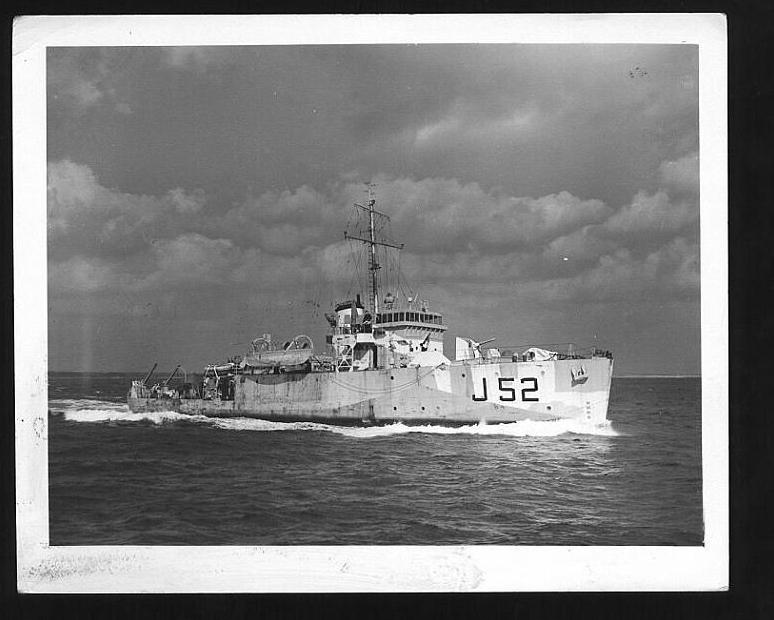 11 March 1945. Dunver (RCN). PATTERSON, Percy W, Leading Stoker, ...