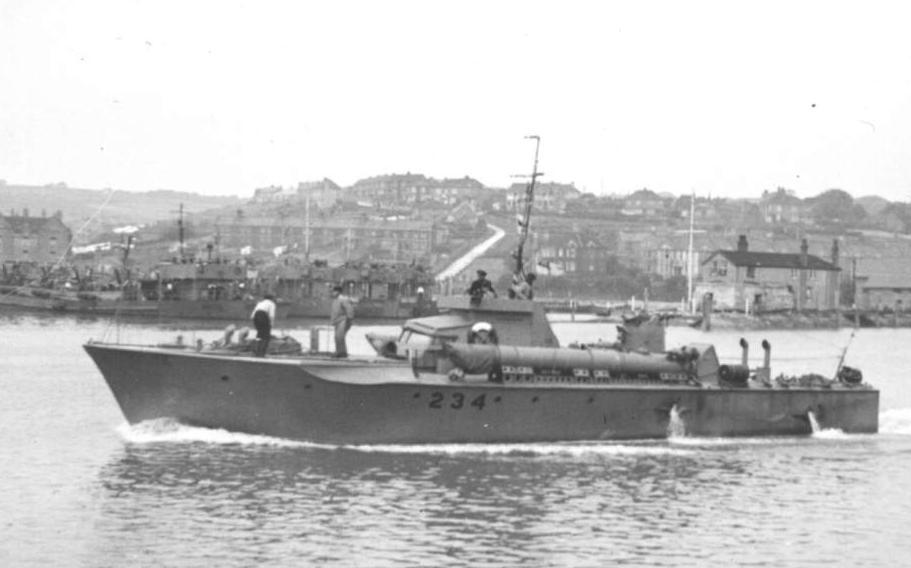 World War Ii British Torpedo Boats