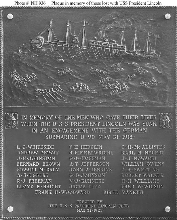 Us Coast Guard Killed And Died World War 1