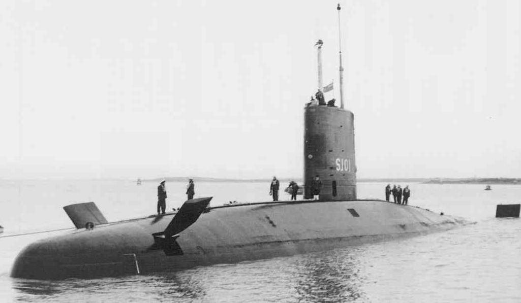 Plan to sell WW2 HMS SERAPH to USA failed. This submarine had taken US