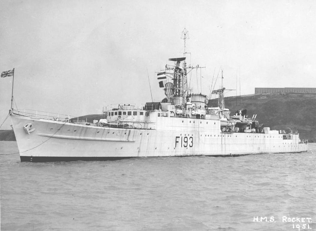 British battleships on conservation in the 1950s 51