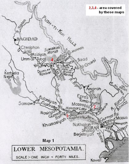 Mesopotamia TigrisEuphrates 19141917 despatches killed and