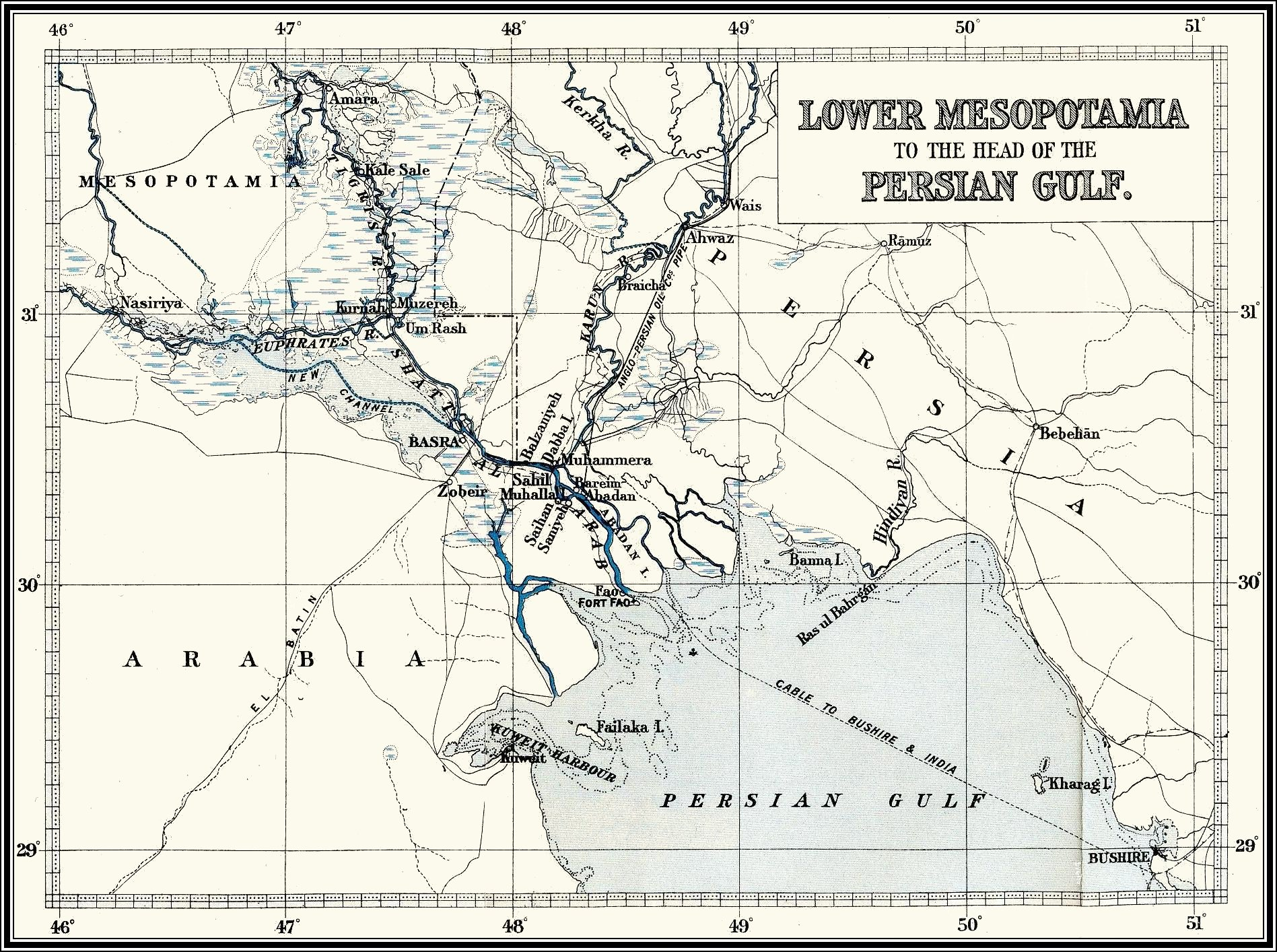 Mesopotamia, Tigris-Euphrates, 1914-1917, despatches