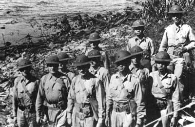 bataan battle march death corregidor war marines 1942 wwii philippines philippine 4th ii ww2 history japanese marine scouts casualties usmc