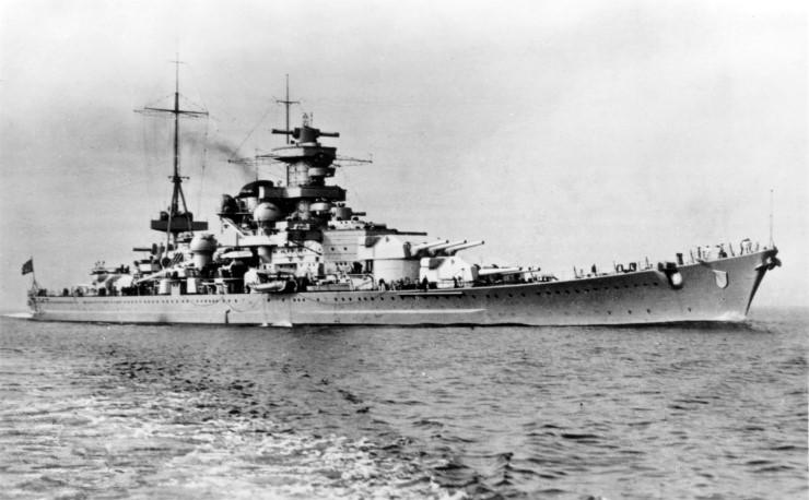 German Navy In World War 2 Surface Ships
