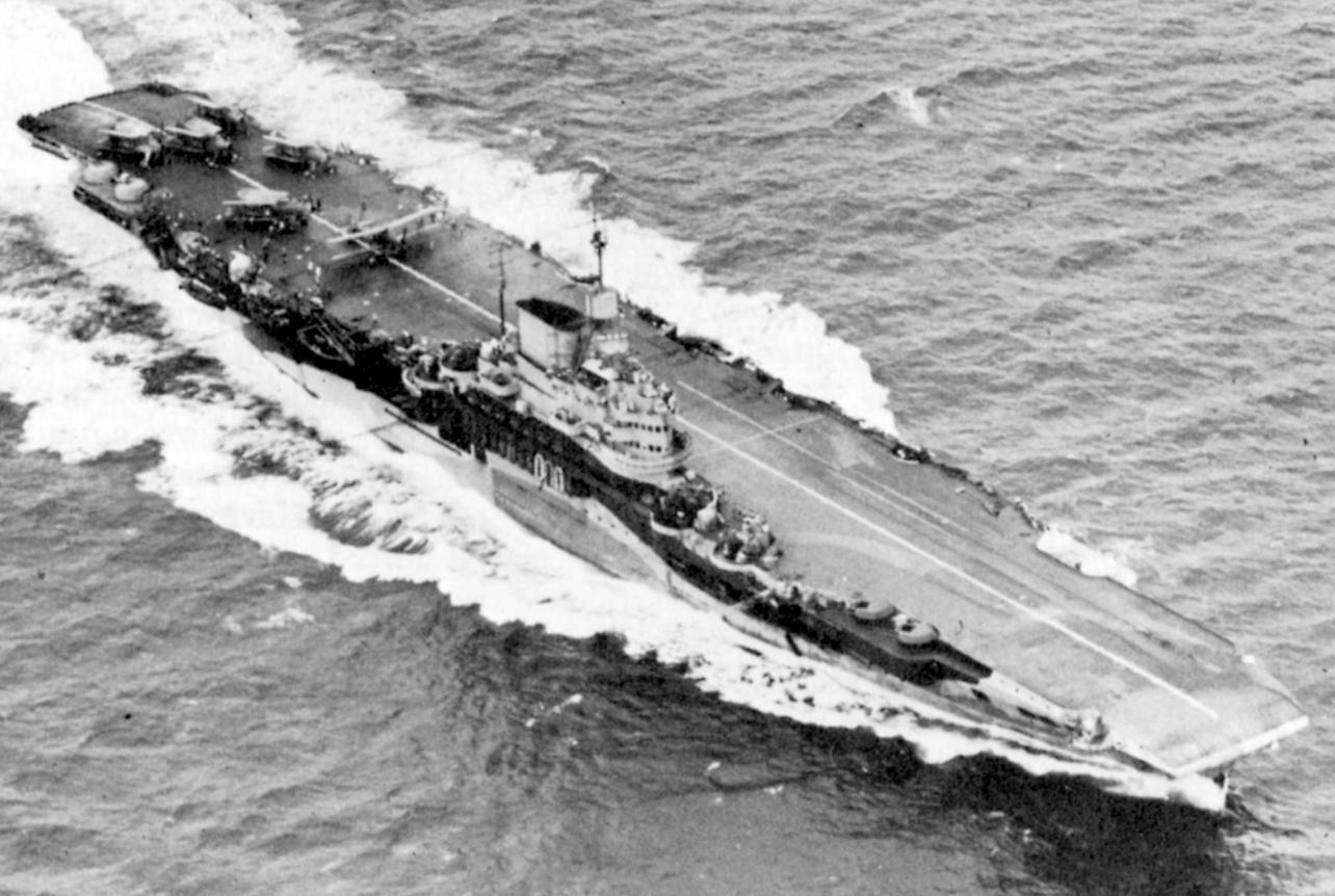 Royal Navy losses in World War 2 - Aircraft Carriers