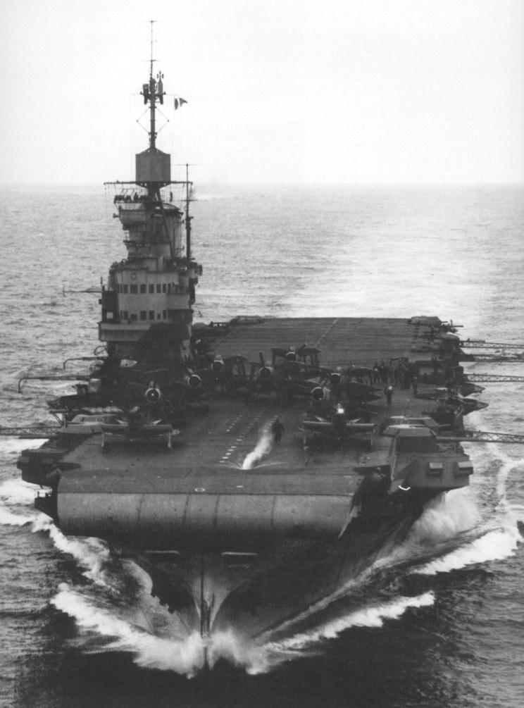 HMS Victorious, British fleet aircraft carrier, WW2