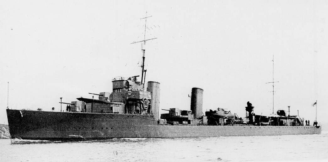HMS Wallace, destroyer