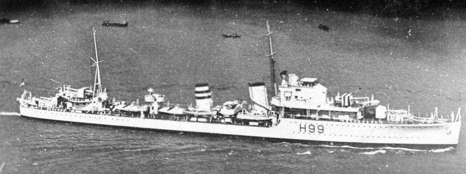 HMS Hotspur, destroyer