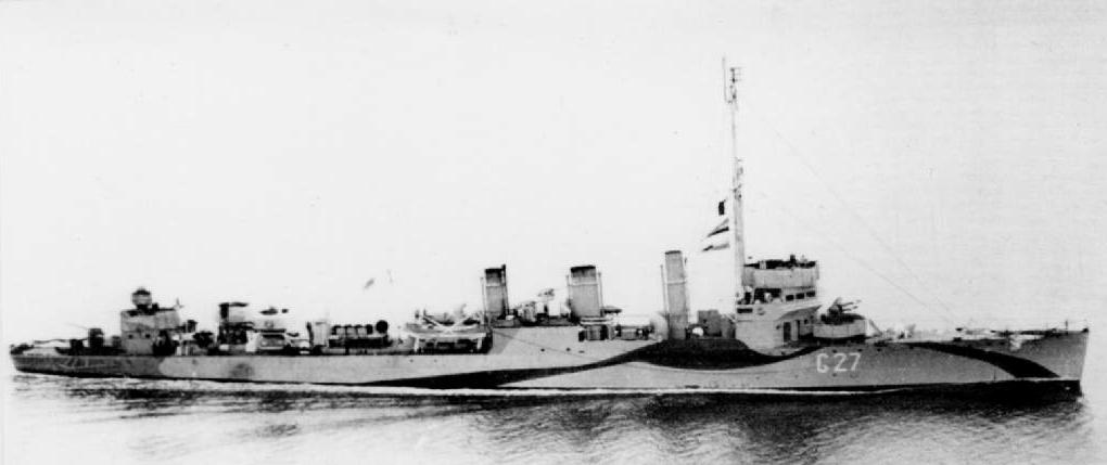 Hms Leeds Destroyer