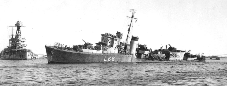 British Hunt-class escort destroyers, WW2
