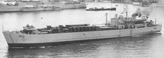 British Vessels Lost At Sea In World War 2 Landing Ships