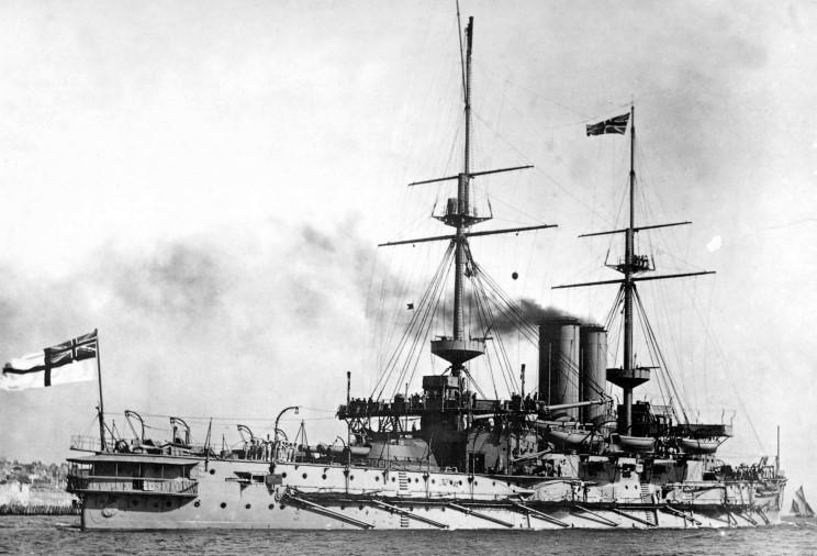 Art Methodical 1900 Boer War Battleship Canopus And Officers To Win A High Admiration And Is Widely Trusted At Home And Abroad.