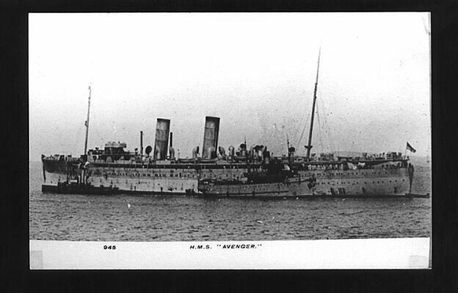 Hms avenger armed merchant cruiser british warships of world war 1 - Mechant avenger ...