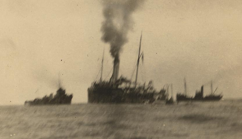 British Vessels Lost and Damaged at Sea in World War 1