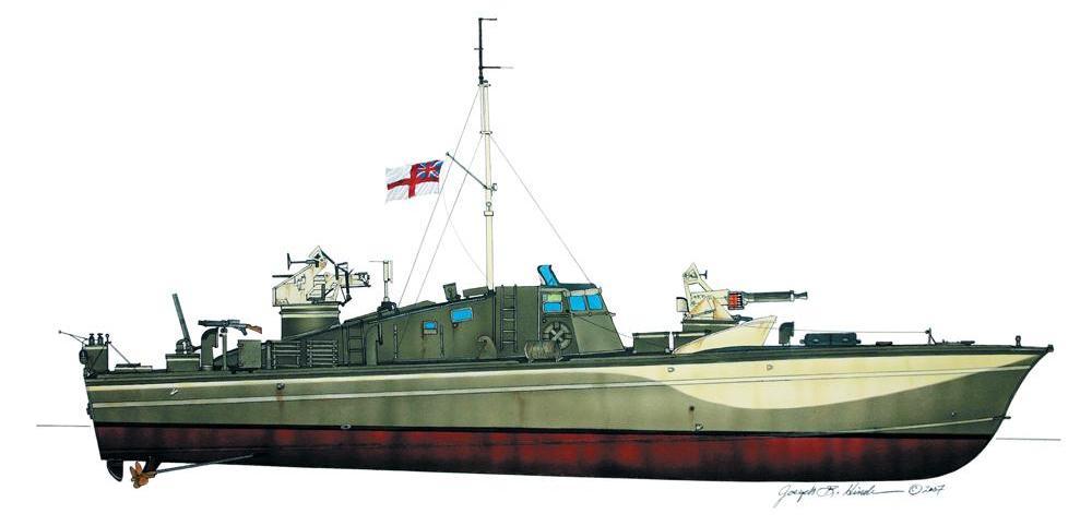 Torpedo boat history